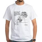 Tap Dancing Angels White T-Shirt