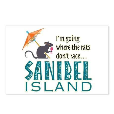 Sanibel Rat Race - Postcards (Package of 8)