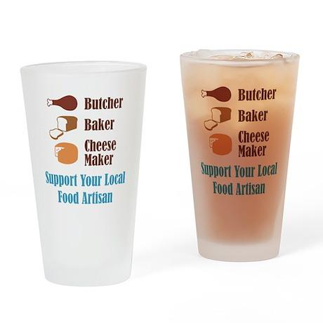Food Artisan Drinking Glass
