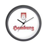 Cute Stadt Wall Clock