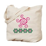Love Flowers Tote Bag