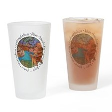 Red Canyon Drinking Glass
