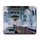 Fountain Garden Solar Mousepad