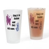 Vocalists Pint Glasses