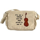 I've Got a Cello Messenger Bag