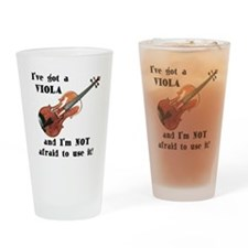 I've Got a Viola Drinking Glass