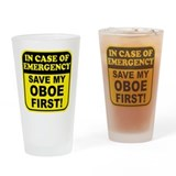 Save My Oboe Drinking Glass