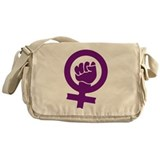 Feminist Power Messenger Bag