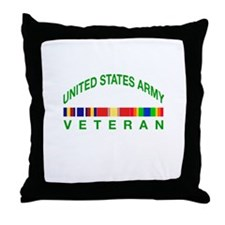 US Army Veteran Throw Pillow