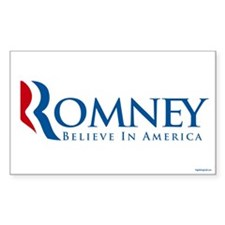 Romney - Believe in America Decal