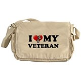I (heart) my Veteran Messenger Bag