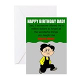 Forgetful son Greeting Cards (Pk of 20)