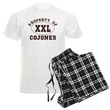 Property Of XXL Cojones pajamas