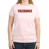 Tolerance Women's Pink T-Shirt