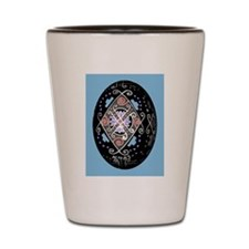 Pysanka a la Warhol Shot Glass