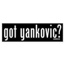 Got Yankovic? Bumper Bumper Sticker