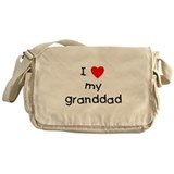 I love my granddad Messenger Bag