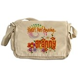 Most Amazing Granny Messenger Bag