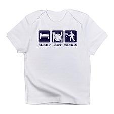 Sleep Eat Tennis Infant T-Shirt