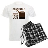 Constable Chocoholic Gift pajamas
