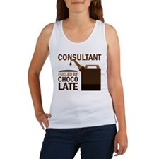 Consultant Chocoholic Gift Women's Tank Top