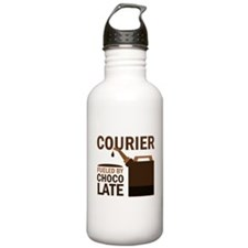 Courier Chocoholic Gift Water Bottle