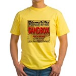 Welcome to the Sandbox AKA Ir Yellow T-Shirt