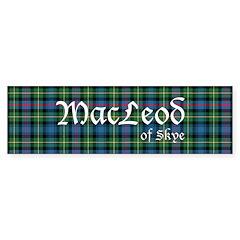 Tartan - MacLeod of Skye Sticker (Bumper 50 pk)