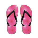 Candy Burst Pink Flip Flops