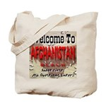 Welcome To Afghanistan Beach Tote Bag