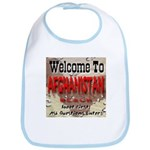 Welcome To Afghanistan Beach Bib