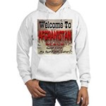 Welcome To Afghanistan Beach Hooded Sweatshirt