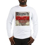 Welcome To Afghanistan Beach Long Sleeve T-Shirt