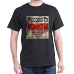 Welcome To Afghanistan Beach Black T-Shirt
