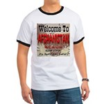 Welcome To Afghanistan Beach Ringer T