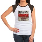 Welcome To Afghanistan Beach Women's Cap Sleeve T-