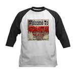 Welcome To Afghanistan Beach Kids Baseball Jersey