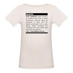 Evil Genius Personal Ad Organic Baby T-Shirt