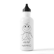 Scientist Superhero Water Bottle