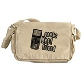 Geeks Best Friend Messenger Bag