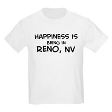 Happiness is Reno Kids T-Shirt