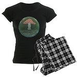 Mushroom Women's Dark Pajamas