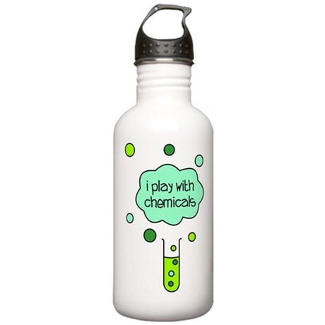 I Play with Chemicals Stainless Water Bottle 1.0L