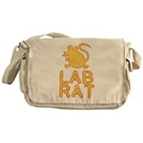 Cheese Lab Rat Messenger Bag