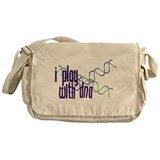 I Play with DNA Messenger Bag
