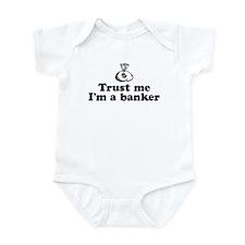 Trust Me I'm A Banker Infant Creeper