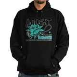 Fight Like A Girl For My Cervical Cancer  Hoodie