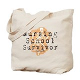 Nursing School Survivor Tote Bag