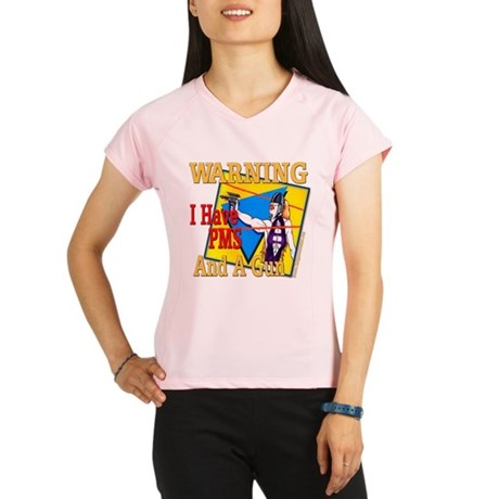 WARNING PMS Performance Dry T-Shirt
