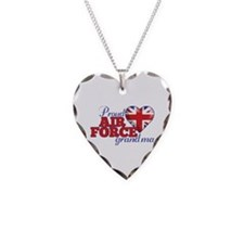 Proud Air Force Grandma - Necklace